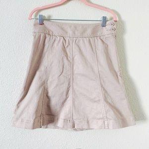 Jacob Women's Tan Denim Skirt